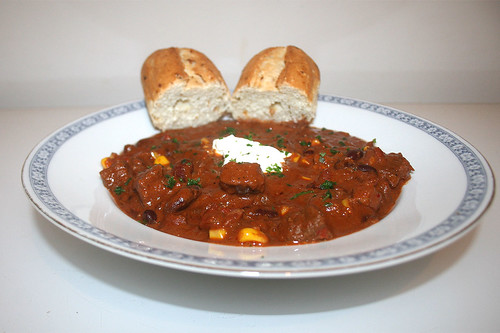 52 - Texas Beef Chili - Side view / Seitenansicht
