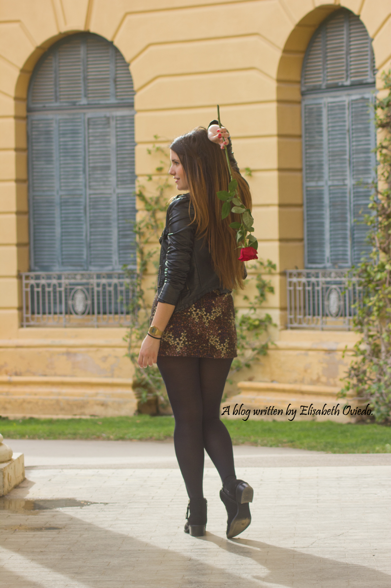 floral skirt ZARA botines Zalando new look outfit post HEELSANDROSES (4)
