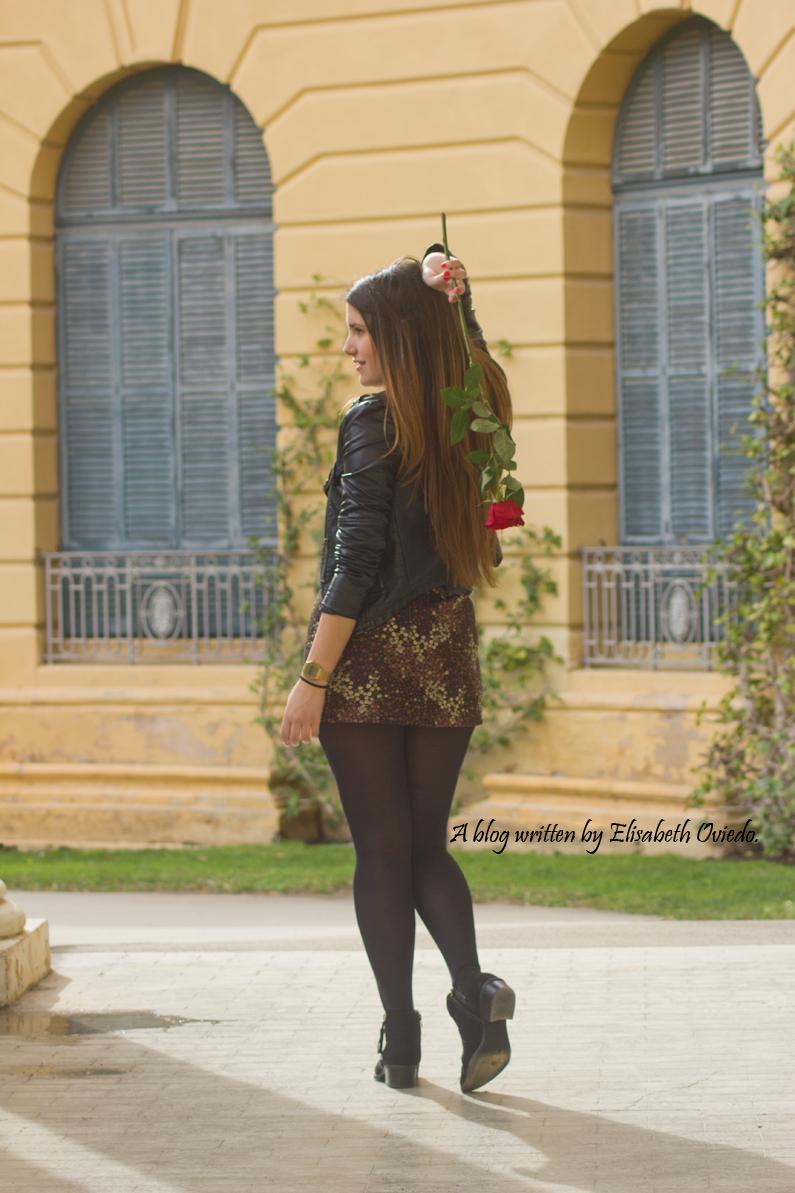 floral skirt ZARA botines Zalando new look outfit post HEELSANDROSES (4)