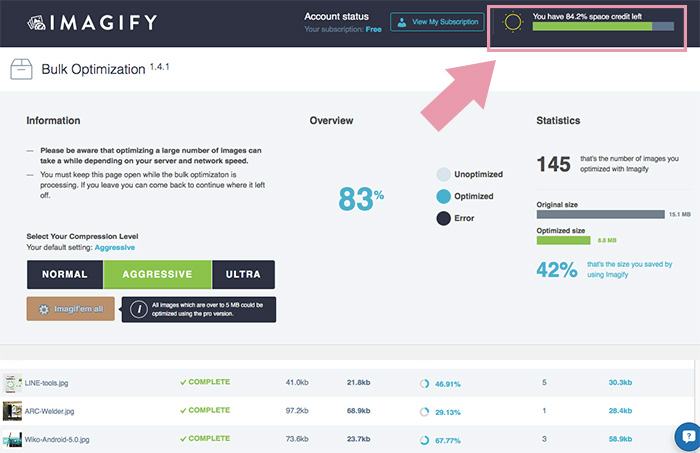 Imagify Image Optimizer