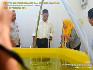 Lawatan Menteri Pertanian Dan Industri Asas Tani