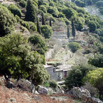Ikaria's remotest hinterland 21 - near the stonewall fence in view of Langada