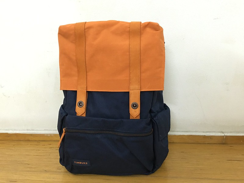 Timbuk2 Sunset Backpack (Orange & Blue) - Front