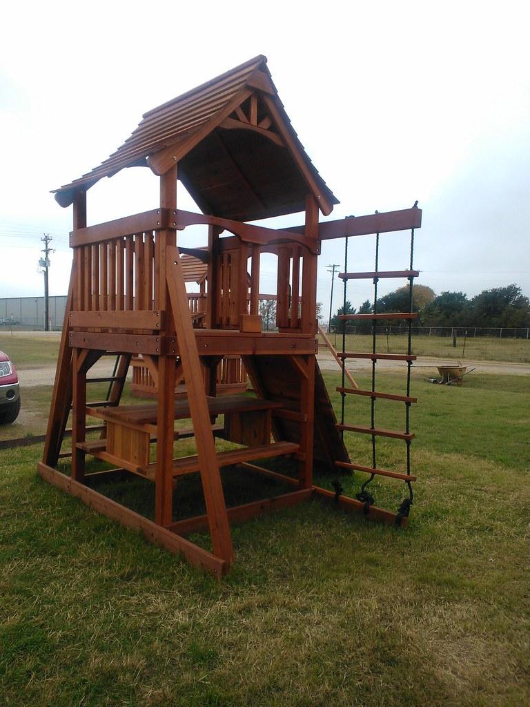 By Backyard Fun Factory · Fun Shack Playset (no Swing Beam)