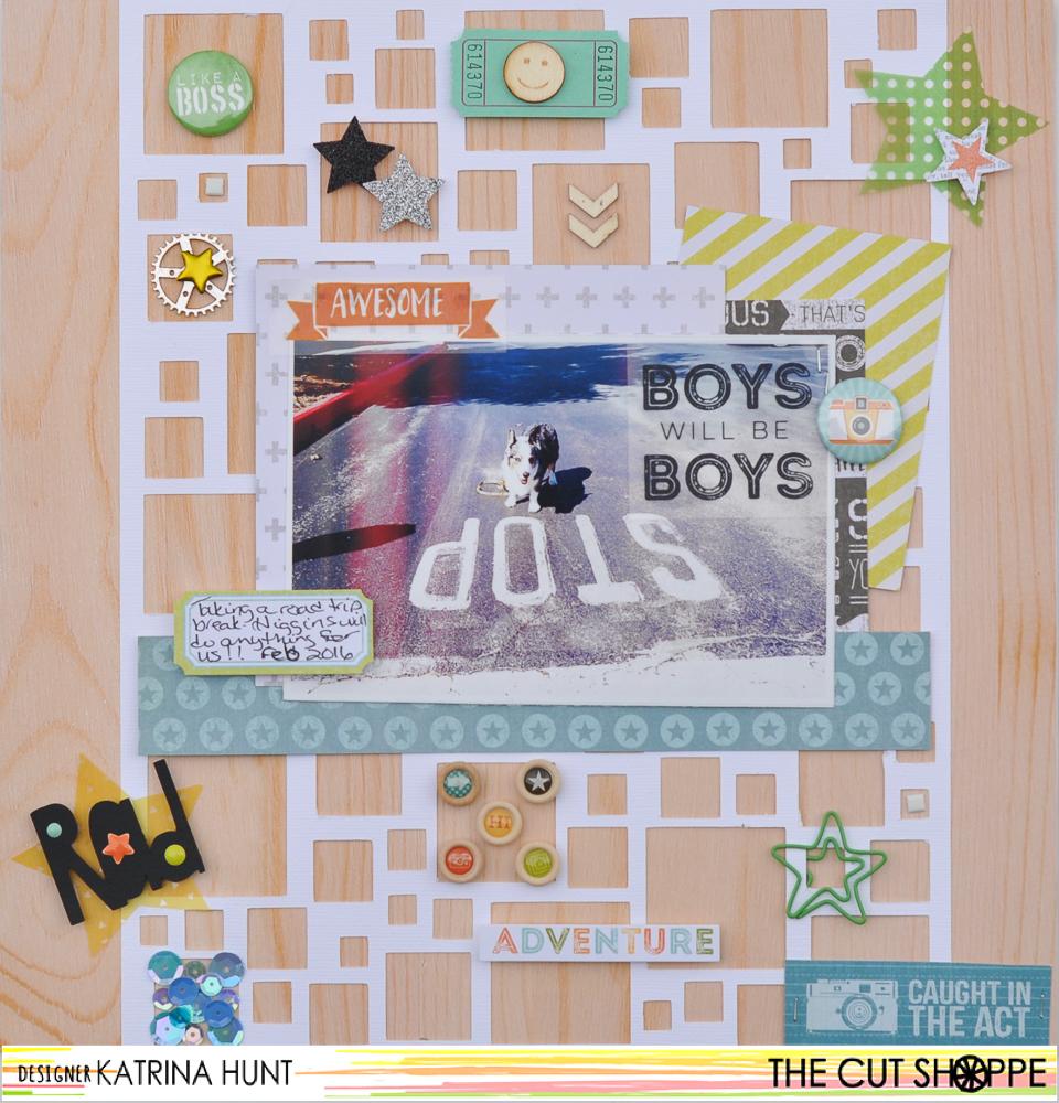 Boys Will Be Boys-Cocoa Vanilla and The Cut Shoppe