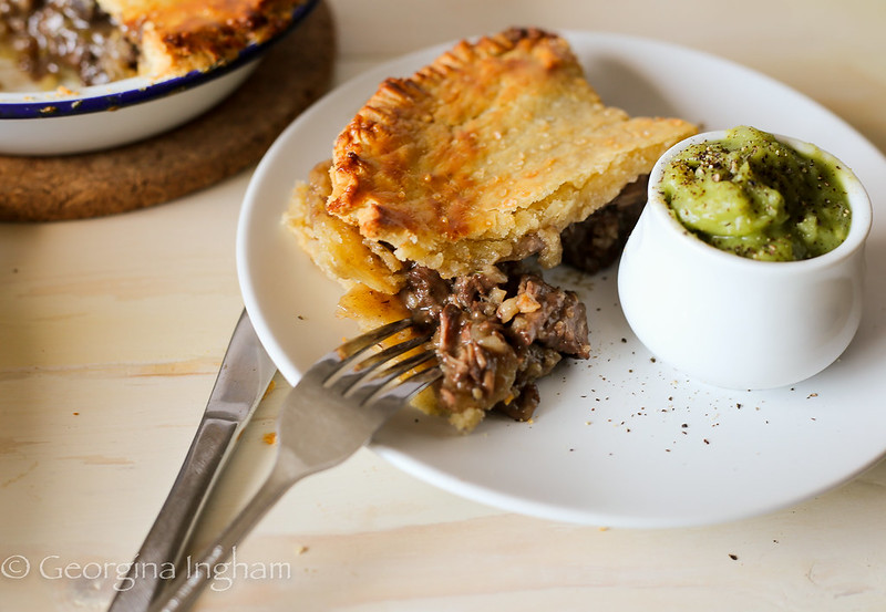 Georgina Ingham | Culinary Travels Photograph - Nostalgia and Comfort on a Plate: The True Northern Classic of Pie & Peas!