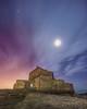 Pleine lune sur le Fort d'Ambleteuse. by Pixtures-77 [France-62]