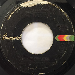 THE CHI-LITES:THE FIRST TIME(EVER I SAW YOUR FACE)(LABEL SIDE-A)