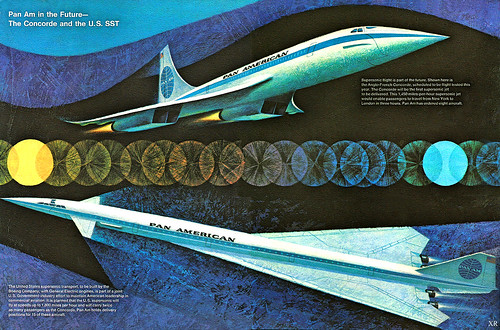 1967 ... a world of Supersonic Travel