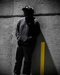 Self portrait No one is perfect, we all have a dark side. #endlessreflectionphotography #seattle #spokane #selfportait #pnw #igers_Seattle #nightportrait #artofvisuals #ig_blacknwhite #colorsplash #nyc #portlandtrailblazers #ripcity
