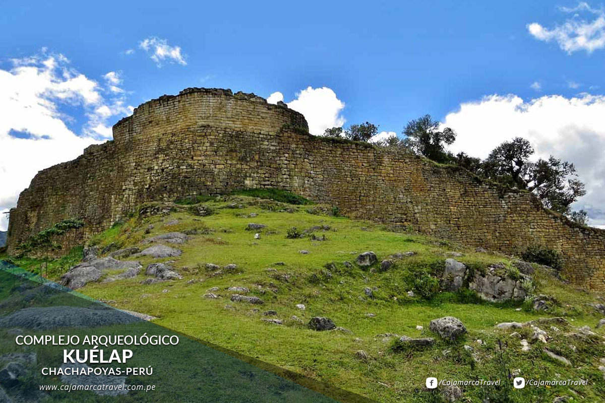 Conjunto arqueológico de la cultura Chachapoyas.