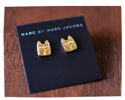 Marc Jacobs Cat Studs