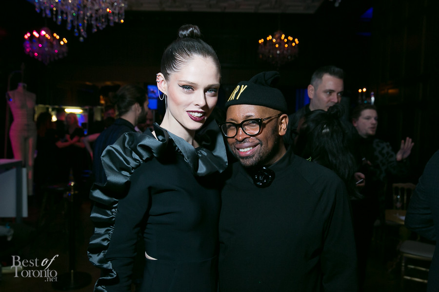Coco Rocha with Kirk Pickersgill