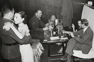Japanese bar girls in Post-World War II Japan