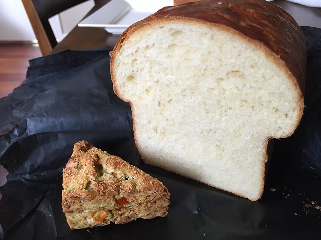 Japanese Milk Bread and Thai Scone