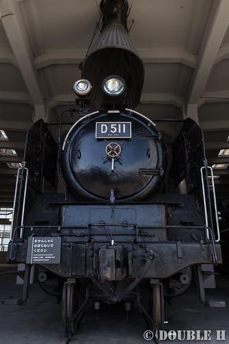 Umekoji Steam Locomotive Shed (10) D51-1