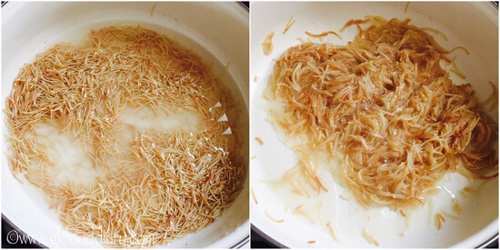 Vermicelli Kheer Recipe for Babies, Toddlers and Kids - step 2