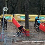verkenning parcours BK Lille door Fidea Cycling Team