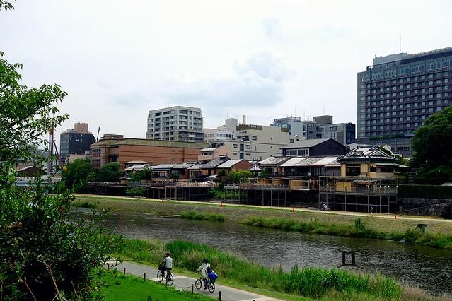 京都 鴨川、晴明神社 (3)