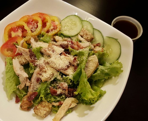 Greek Salad | Dinner at Koffie Pauze In Its New Home at Roxas Avenue Dormitory - DavaoFoodTrips.com