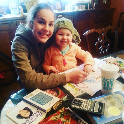 Homeschooling with Charlotte
