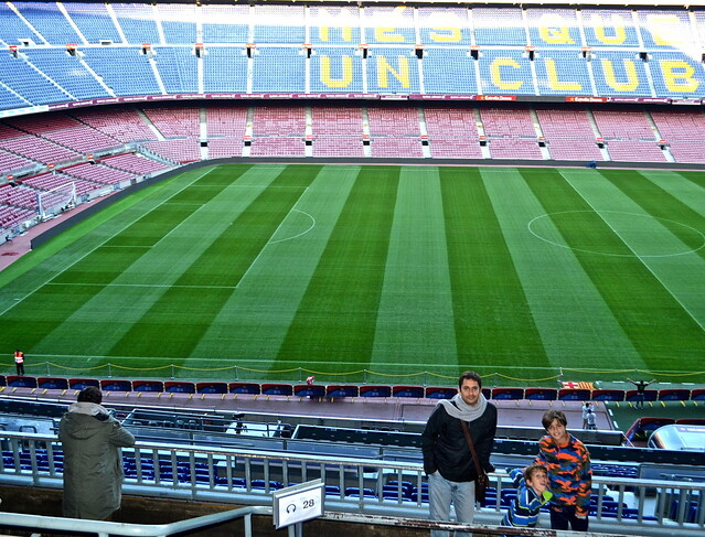field - Camp Nou Barcelona