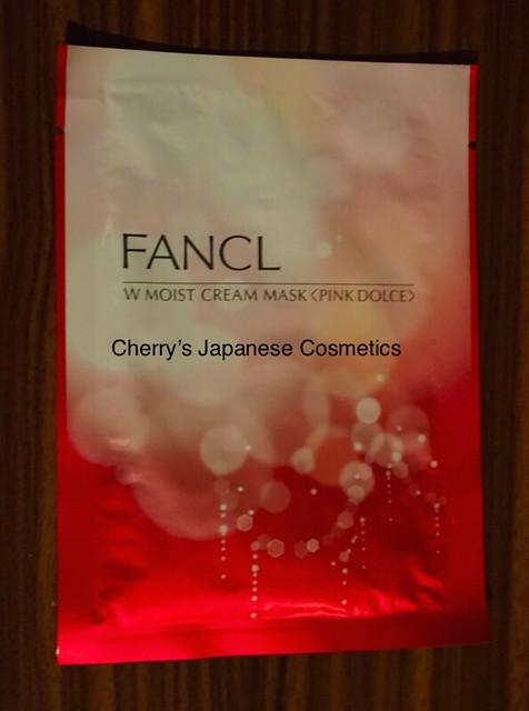 Fancl W Moist Cream Mask