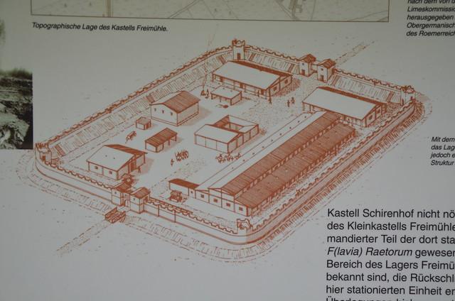 Raetian Limes Limes - Kleinkastell Freimühle