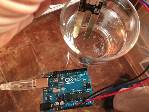 Moisture Sensor in water
