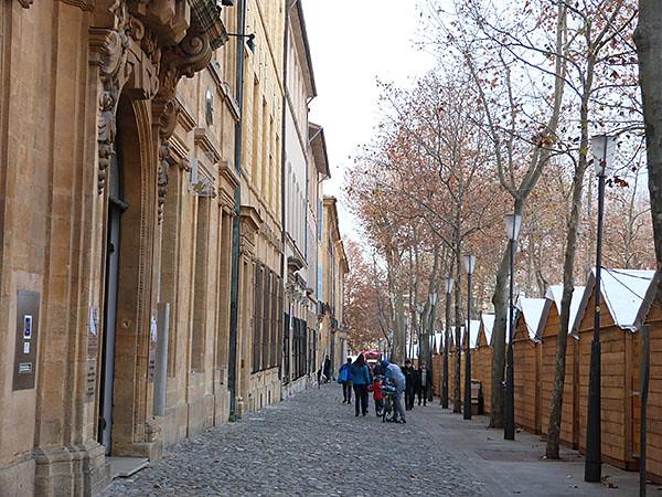 le marché de noël d'Aix