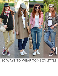 Not Dressed As Lamb | 10 Ways to Wear Tomboy Style