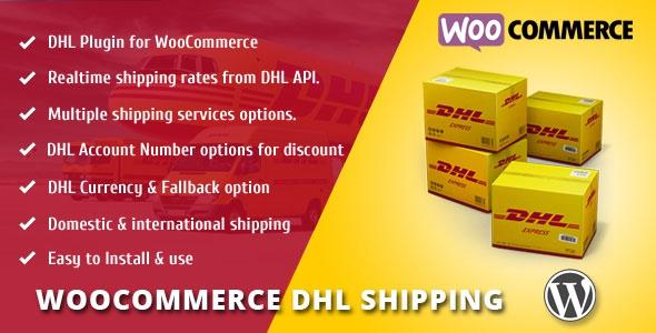 Codecanyon WooCommerce DHL Shipping v1.0