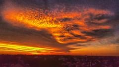Nubología #today #clouds #sunset #sky #igers #igersbsas #BuenosAires #instasky #instaclouds #instasunset