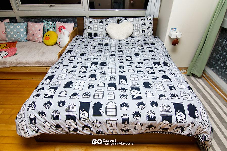 Room+Plus Hostel Korea at Hongdae Seoul bed