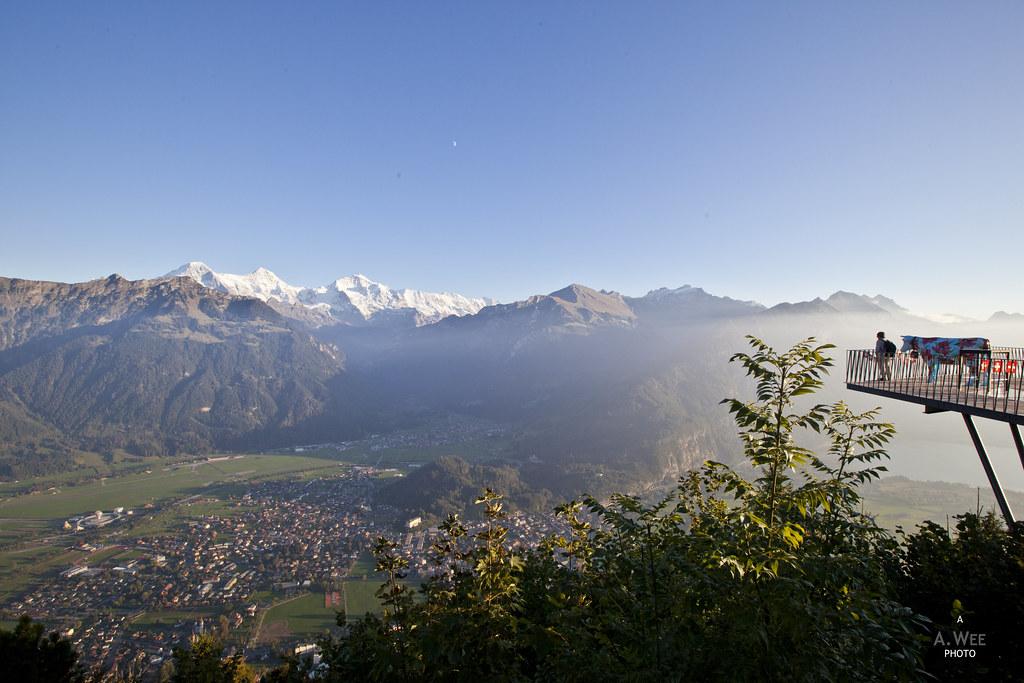 Viewpoint at Harder Kulm