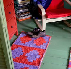 New Rag Rug for my son's bedroom
