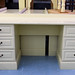Cream painted writing desk