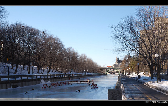 Closed Rideau Canal