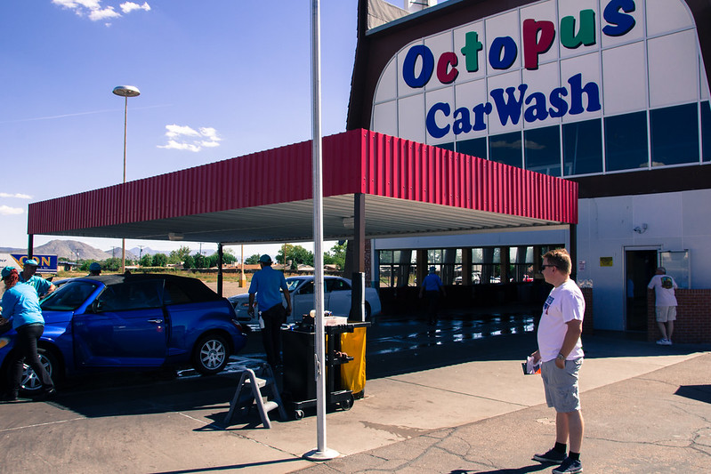 Breaking Bad tour, Albuquerque: Octopus AKA A1 Car Wash