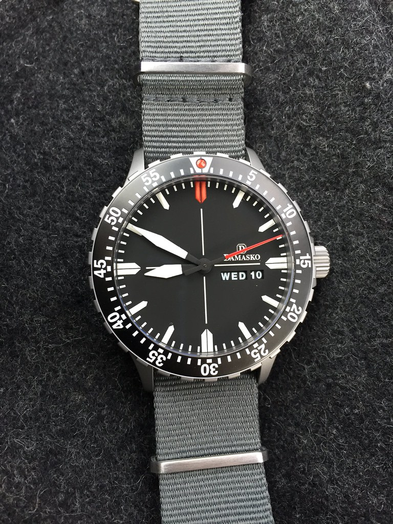 Perfect nato strap for damasko owners for Damasko watches