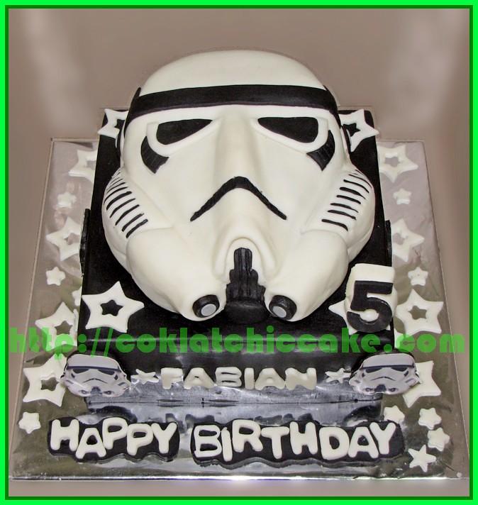 Cake Stromtrooper Starwars
