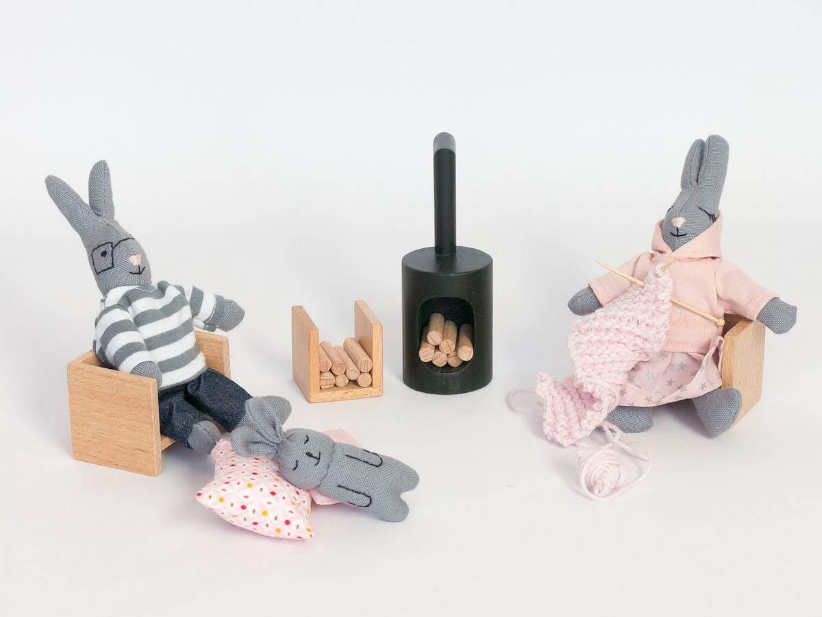 encore-jouets - wooden eco dollhouses