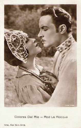 Dolores Del Rio and Rod La Rocque in Resurrection (1927)
