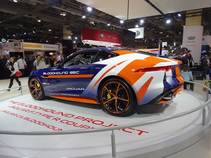 Bloodhound Project Jaguar F-Type R Coupe