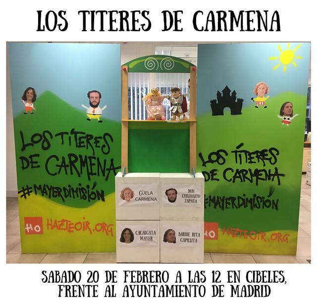 Los Títeres de Carmena