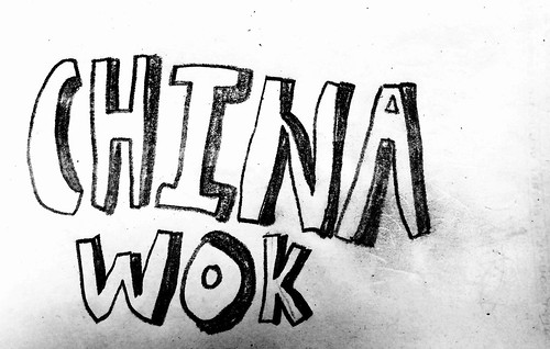 China Wok Drawing by Janice (March 14 2015)