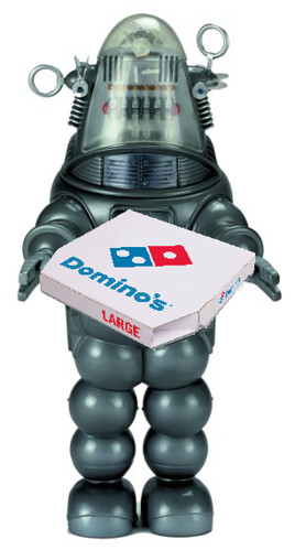 Domino's Robot Pizza Delivery