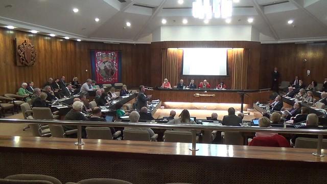 Gateshead Council Chamber Feb 16