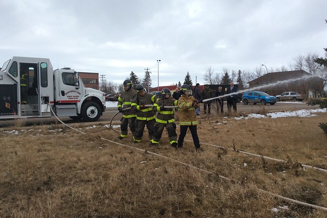 Fire Training with Minister Danielle Larivee and Ermineskin Cree Nation