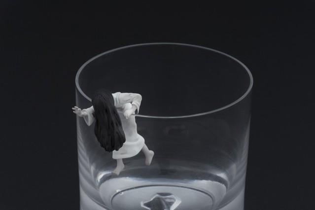 【限定版!】《貞子vs伽椰子》電影前賣券特典 限定版杯緣玩具